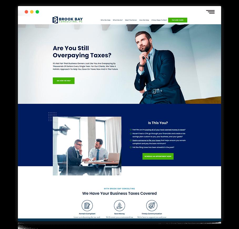 web design mock 1