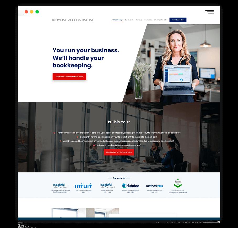 web design mock 2